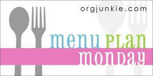 Menu Plan: Week of January 16