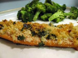 Cheese Topped Trout #Recipe