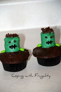 Chocolate Monster Cupcakes